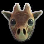 Pencil Heads Giraffe